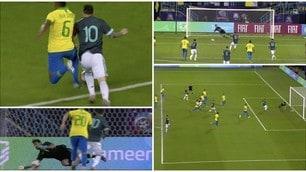 Alex Sandro-Messi, rigore ma fallo fuori area. Alisson para ma non basta