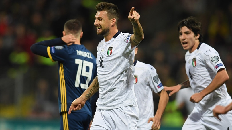 Lazio, Acerbi è al top: un gol in azzurro, il sogno di una vita