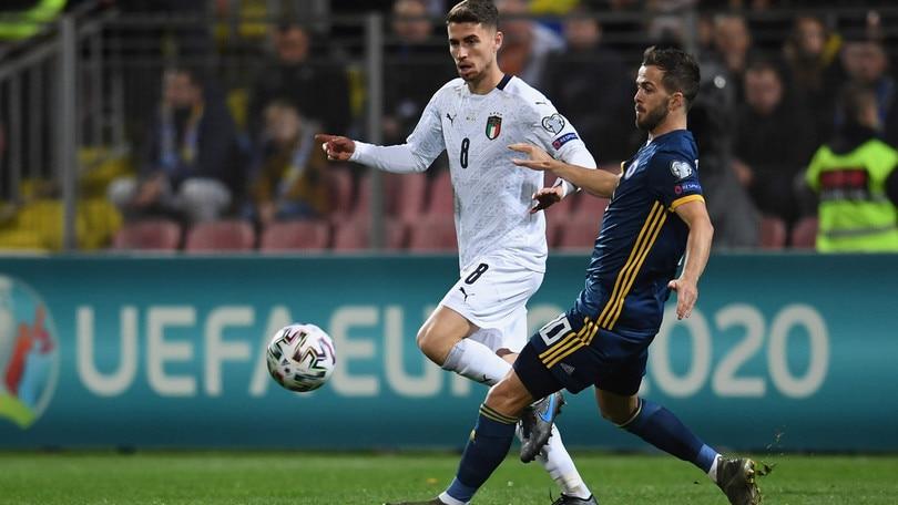 Pjanic ko, costretto ad uscire contro l'Italia. Juve in ansia