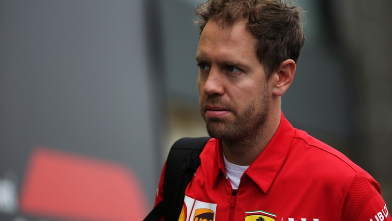 Gp Brasile, Vettel davanti con la Ferrari: