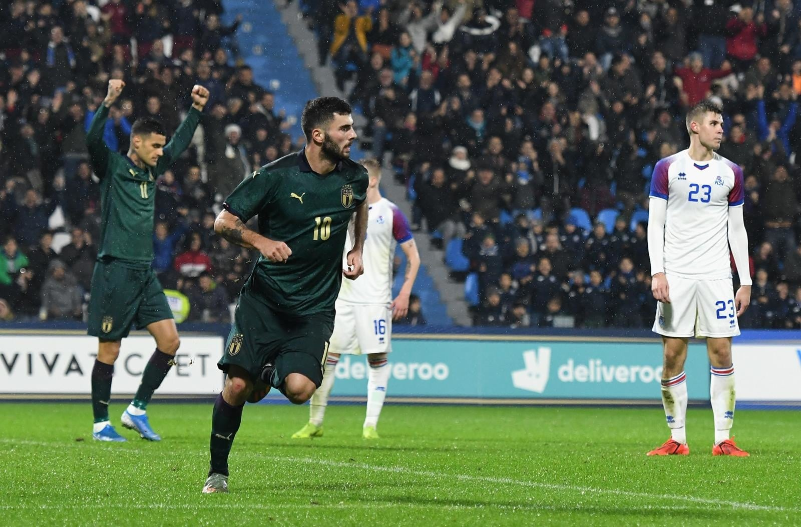 L'Italia Under 21 strapazza l'Islanda. Cutrone, doppietta da favola!
