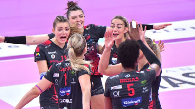 Perugia festeggia la prima vittoria