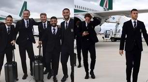 L'Italia è a Palermo: ecco l'arrivo della Nazionale