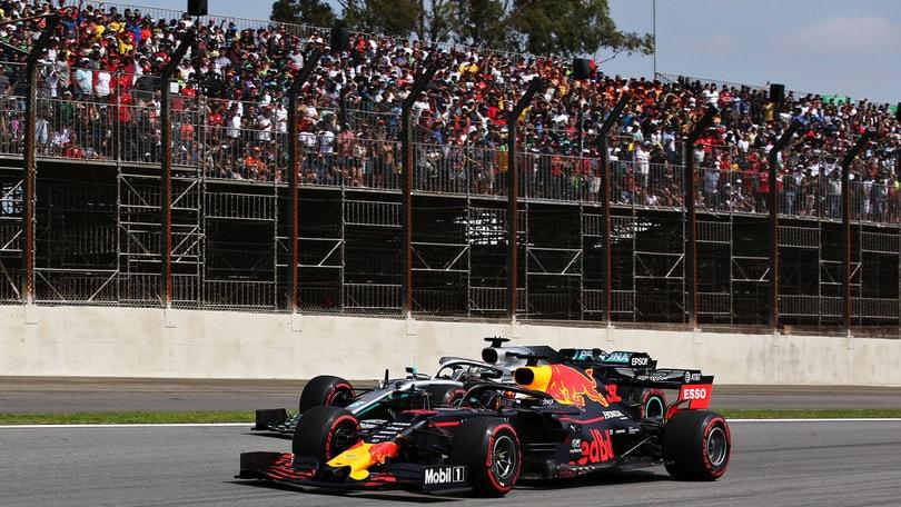 Verstappen trionfa in Brasile, poi Gasly e Hamilton. Harakiri Ferrari