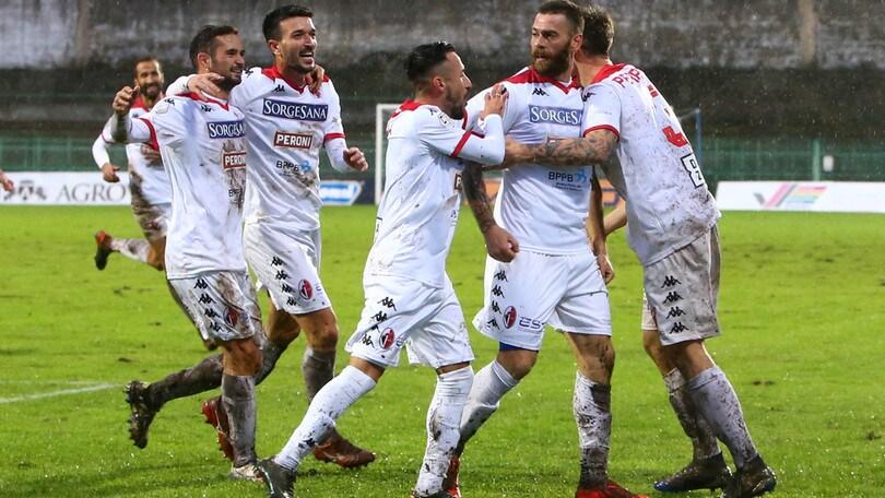 Antenucci lancia il Bari, 1-0 alla Paganese. Vittoria a tavolino per la Reggina