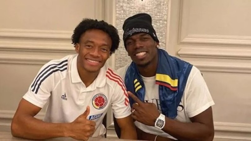"""Cuadrado chiama Pogba alla Juve: """"Che bello vederti di nuovo, panita mio!"""""""