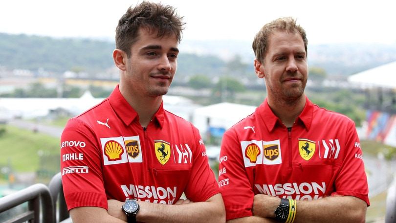 Vettel e Leclerc voltano pagina:
