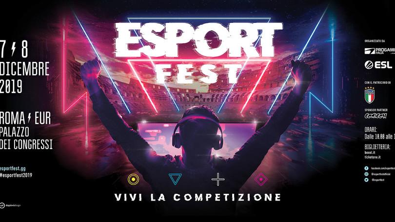 EsportFest: ESL Italia presente il festival dedicato agli esports