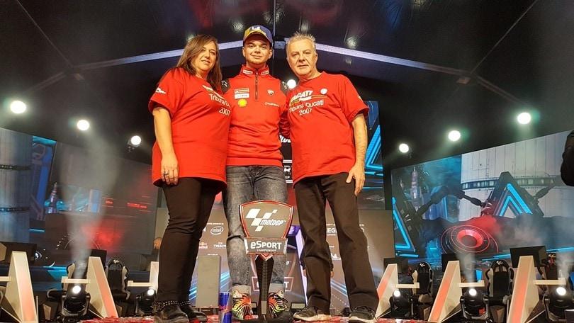 MotoGP Esports: l'italiano AndrewZH sul tetto del mondo