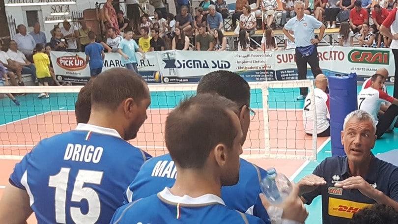 La nazionale di Sitting Volley si raduna a Voghera