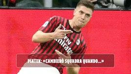 """Milan, Piatek: """"Cambierò squadra quando..."""" - Corriere dello Sport.it"""