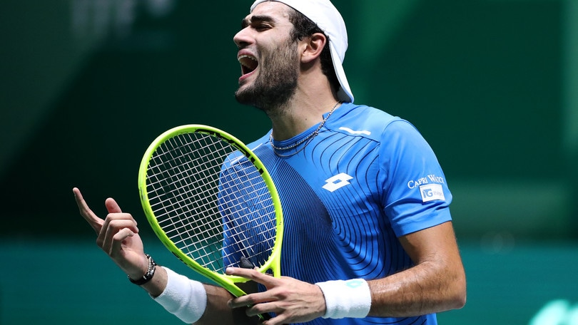 Berrettini perde il secondo incontro di Coppa Davis