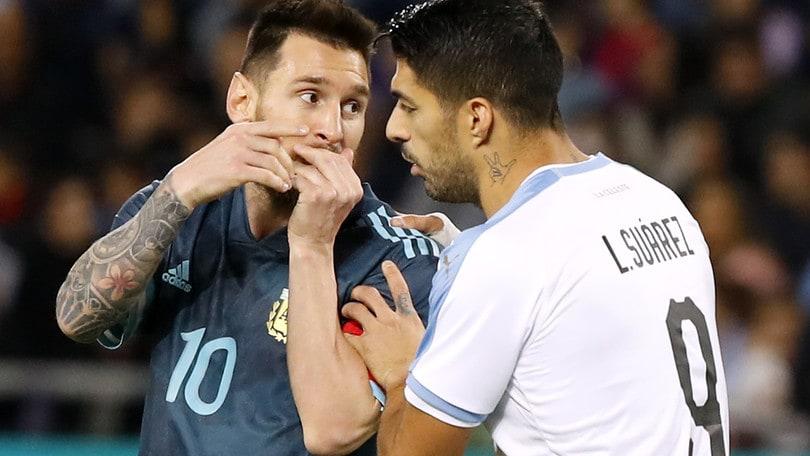 Pareggio tra Argentina e Uruguay. Lautaro si procura il rigore del 2-2