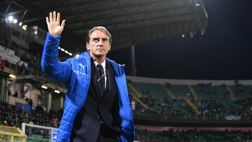 """Italia, Mancini fa festa: """"I miei giovani migliorano partita dopo partita"""""""