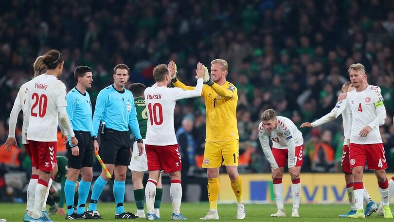 Danimarca e Svizzera a Euro 2020, cinque gol della Spagna alla Romania