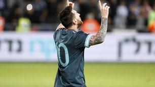 Spettacolo tra Argentina ed Uruguay. Messi a tempo scaduto fa 2-2