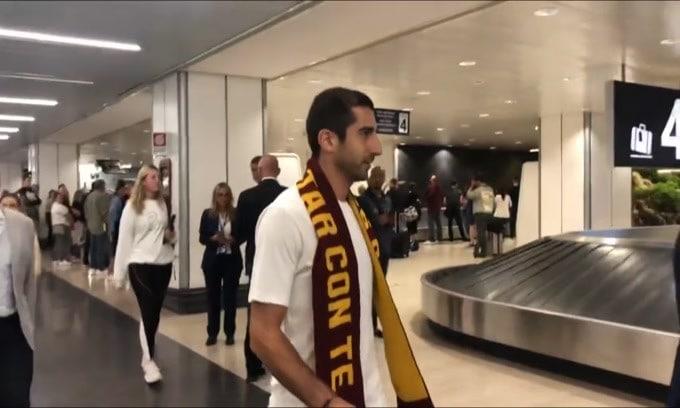 Roma, Mkhitaryan non vuole fare il turista