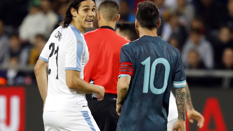 Messi a Cavani: