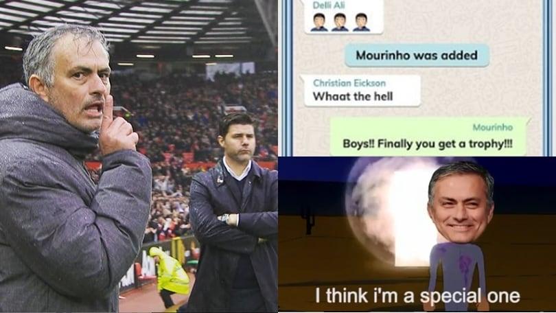 Mourinho va al Tottenham: social pazzi per lo Special One