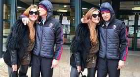Bologna, Mihajlovic esce dall'ospedale con la moglie