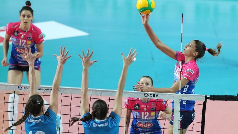 Champions Femminile, tutto facile per Novara contro lo Yuzhny