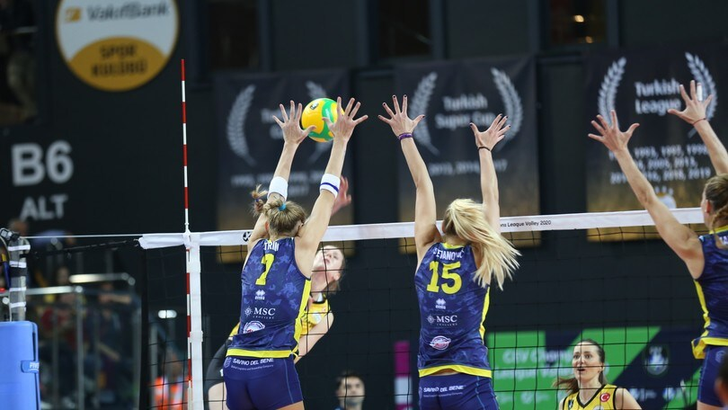 Champions Femminile, Scandicci fa l'impresa, espugnata Istanbul