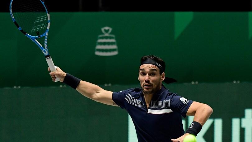 Coppa Davis: Italia eliminata nel girone, ko contro gli USA