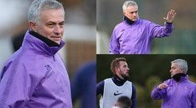 Tottenham, ecco Mourinho: le foto del primo allenamento