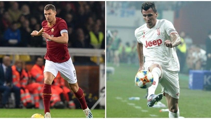 """""""Roma, Dzeko nel mirino del Manchester United. Mandzukic non convince"""""""
