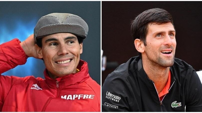 Nadal e Djokovic in coro: