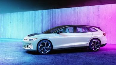 Volkswagen ID. Space Vizzion Concept, le immagini