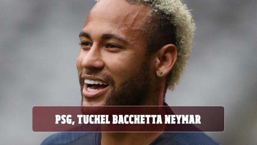 PSG, Tuchel bacchetta Neymar