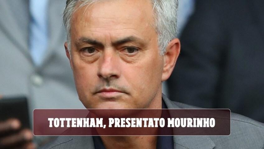 Tottenham, presentato Mourinho