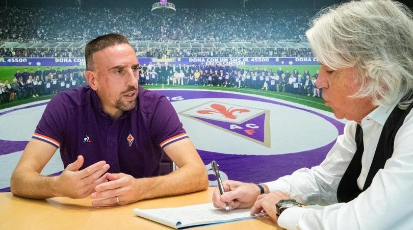 L'intervista esclusiva a Ribery in edicola con il Corriere dello Sport-Stadio