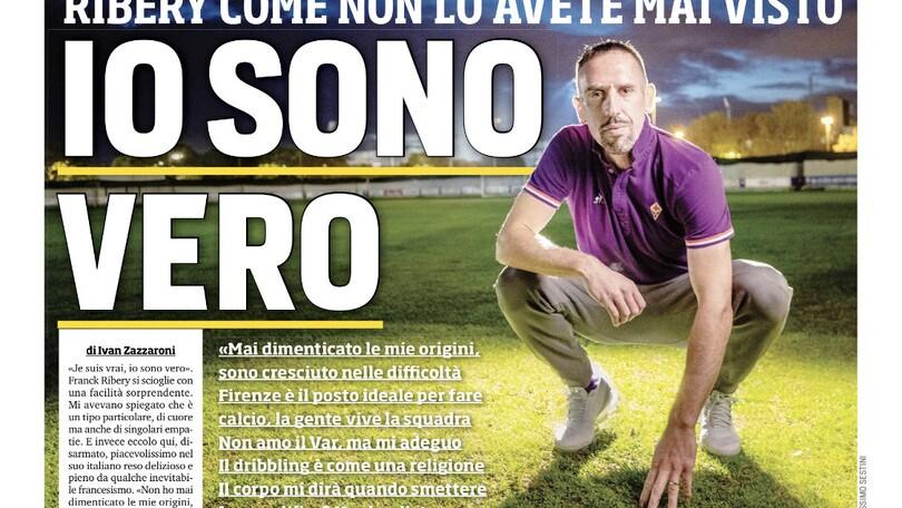 """Ribery: """"Io sono vero"""". Napoli, in arrivo mega multa"""