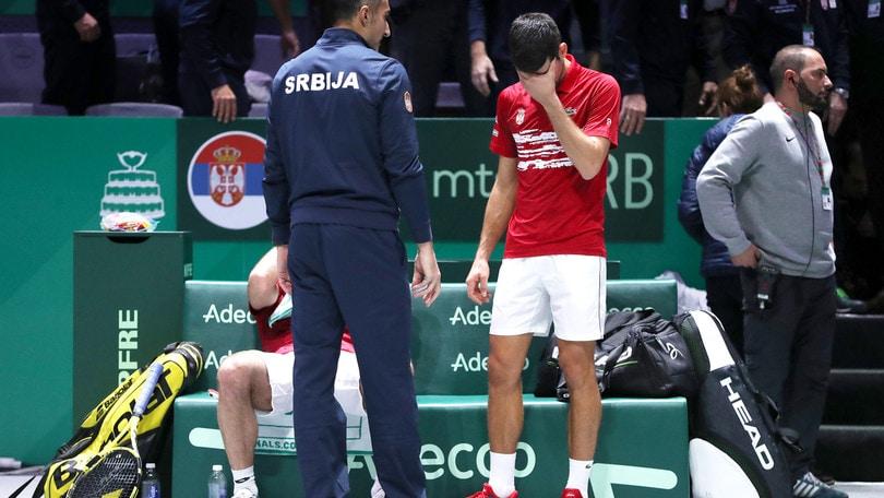 Coppa Davis, Djokovic ko nel doppio. Russia in semifinale, fuori la Serbia