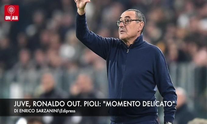 "Juve, Ronaldo out. Pioli: ""Momento delicato"""