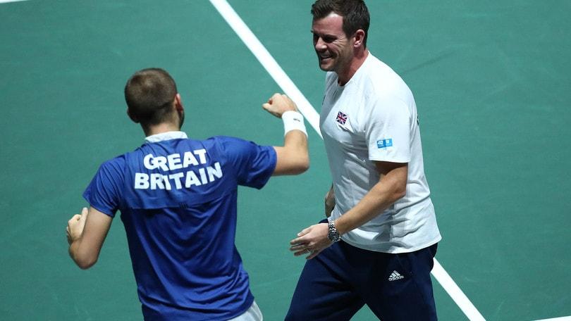 Coppa Davis, la Gran Bretagna batte la Germania e vola in semifinale