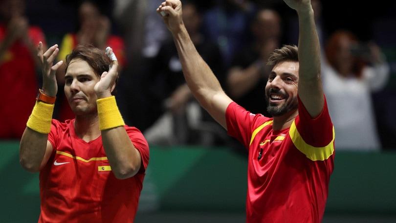 Coppa Davis, la Spagna di Nadal si qualifica per le semifinali