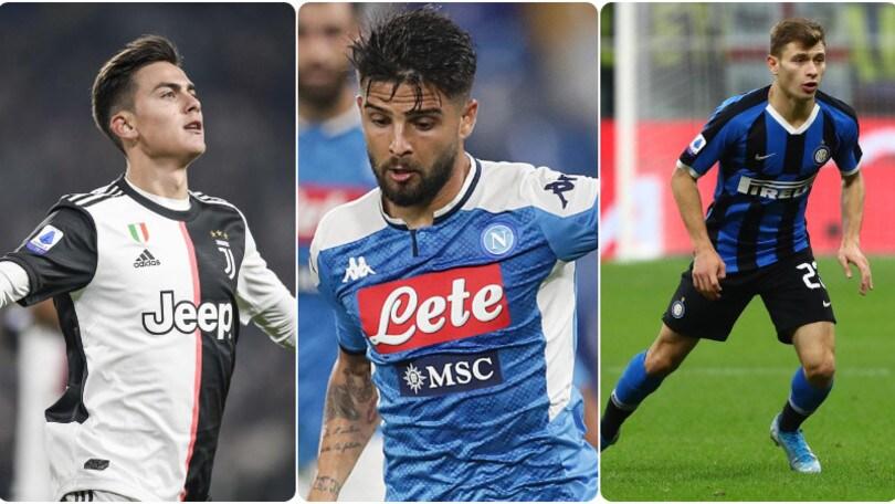 Serie A: tutte le probabili formazioni della 13ª giornata
