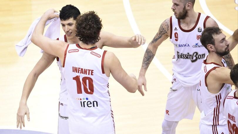 Serie A, vince la Grissin Bon: superata Varese 81-74