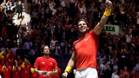 Coppa Davis, Nadal trascina la Spagna in finale e lancia la sfida al Canada
