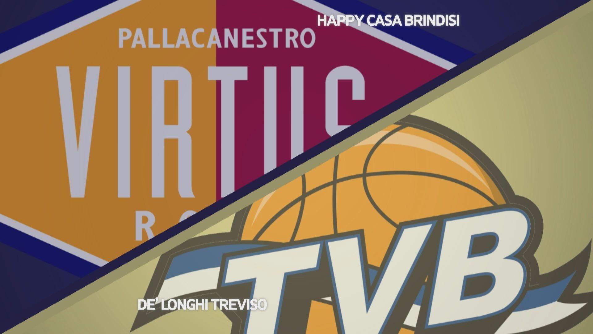 Virtus Roma - Dè Longhi Treviso 69-81