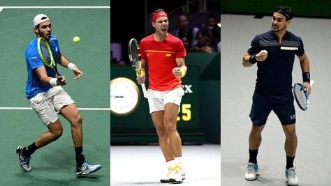 Ranking Atp: Nadal chiude la stagione da numero 1, Berrettini primo italiano