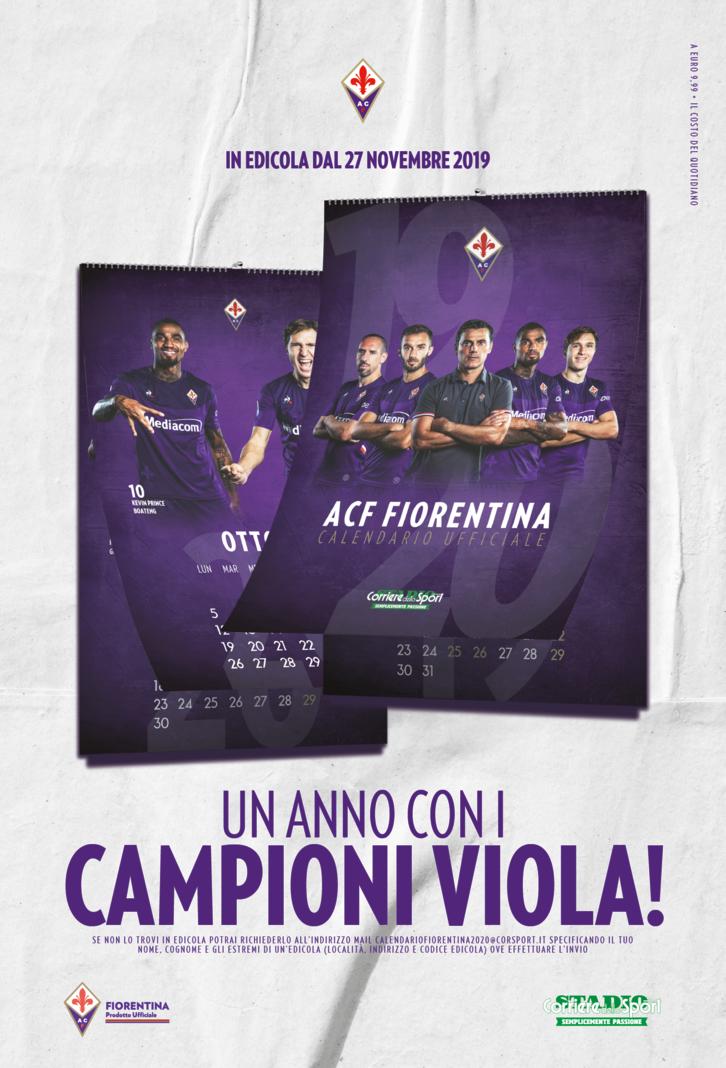 Calendario Fiorentina