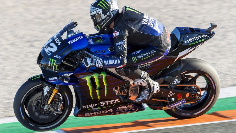 MotoGp: Viñales vola nei test, Valentino Rossi 14°