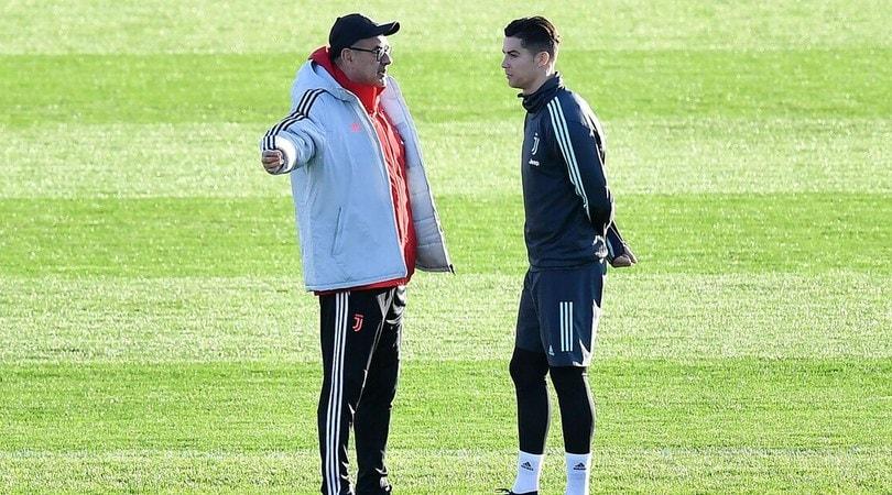 Juve, Ronaldo ok: è tra i convocati per l'Atletico Madrid