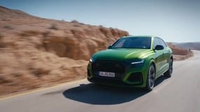 Audi RS Q8 in off-road VIDEO