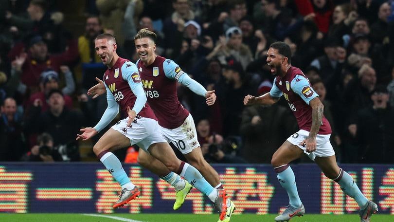 Premier League, l'Aston Villa batte 2-0 il Newcastle