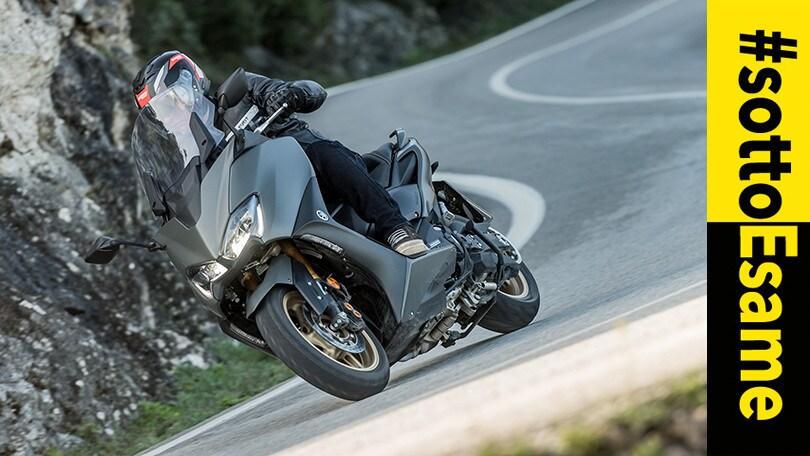 Yamaha TMAX 560 finisce #SottoEsame: la prova